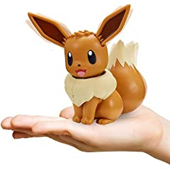 Play with Eevee like never before! Reacts to Touch and Sound Over 50 different Interactions with movement and sound! Tons of features like dancing and a charge attack mode! Gotta Catch 'Em All!!