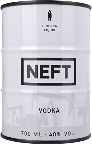 NEFT White Barrel Edición Limitada Vodka - 700 ml