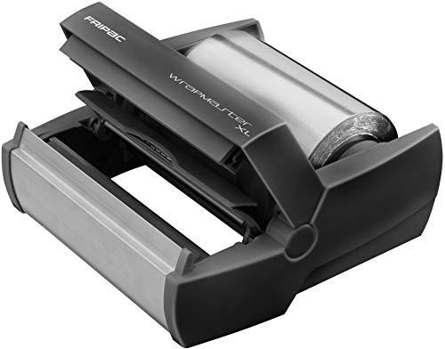 Wrapmaster 500 - Dispensador de aluminio, color negro