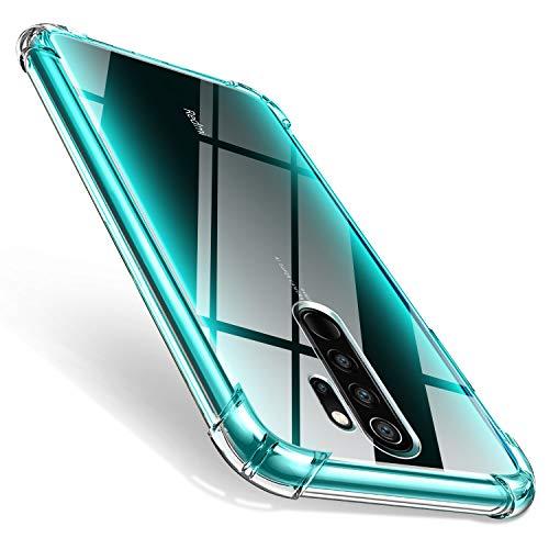 AROYI Cover Xiaomi Redmi Note 8 PRO, Custodia Trasparente TPU Silicone Case Shock Absorption Corner Cushion Bumper Back per Xiaomi Redmi Note 8 PRO