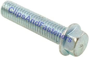 Class 10.9 Zinc 25 M4-0.7 x 10mm JIS Hex Head Flange Bolt Small Head