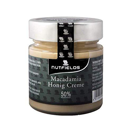 Nutfields Macadamia Honig Creme   50% Macadamianüsse   Brotaufstrich   Gourmet   175 g