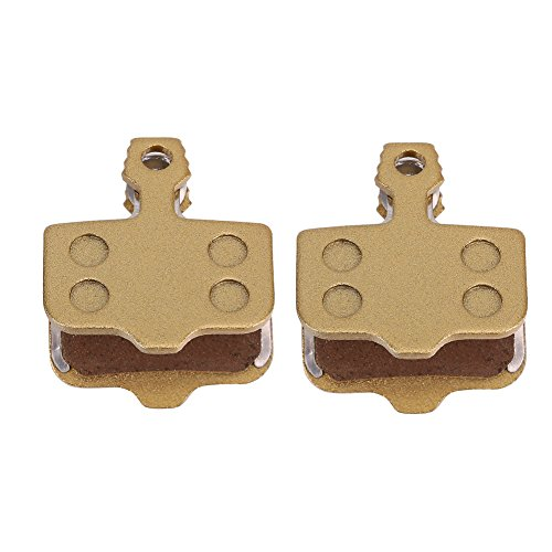 2 Pairs Mountain Bike Brake Pads,Durable Metallic Resin Bicycle Disc Brake Pads for Srams Avid Elixir R/CR/CR-MAG/X0 XX DB