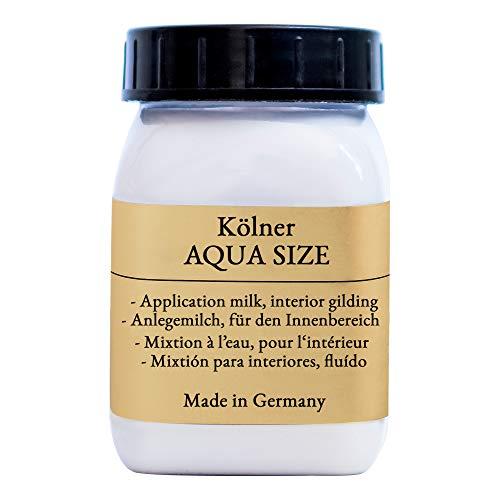 Credo-Blattgold Kölner Aqua Size - Anlegemilch 250 ml