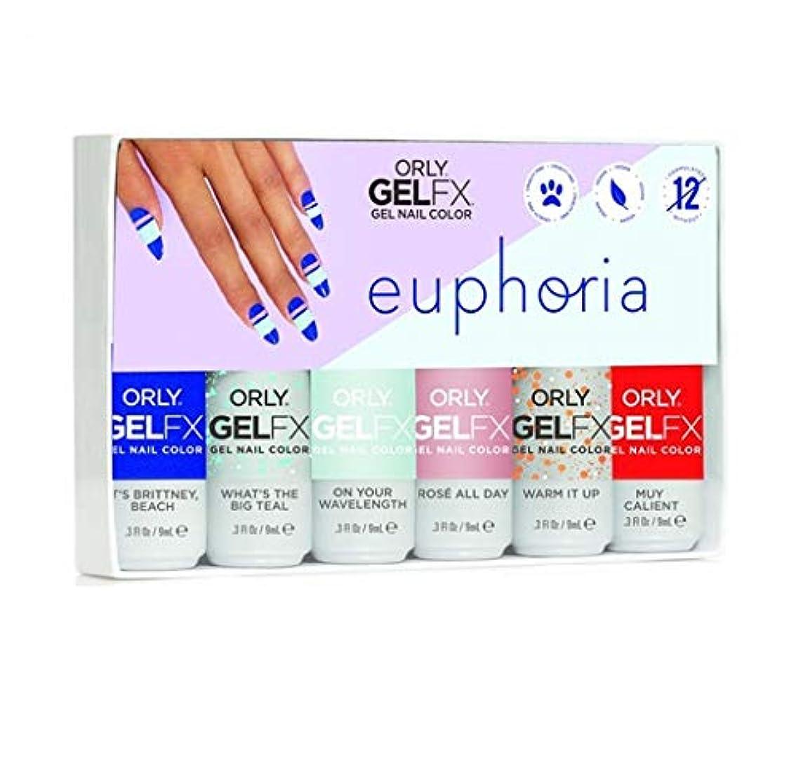 驚いたことにシマウマ糞Orly GelFX - Euphoria 2019 Collection - ALL 6 Colors - 9mL/0.3oz EACH