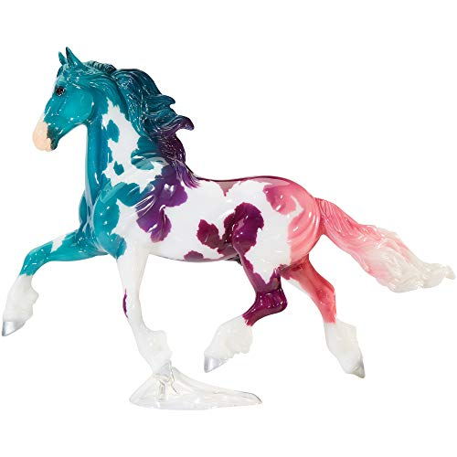 """Breyer Horses Traditional Series Limited Edition   Crystalline - 2020 Fantasy Decorator Series Horse   Horse Toy Model   13"""" x 10""""   1:9 Scale Horse Figurine   Model #1835"""