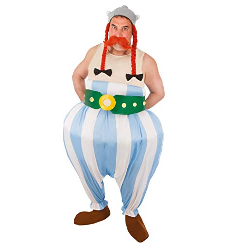 Chaks- Déguisement - Costume Licence Obélix 5 Pièces, Mens, CS964192/XL, Taille XL