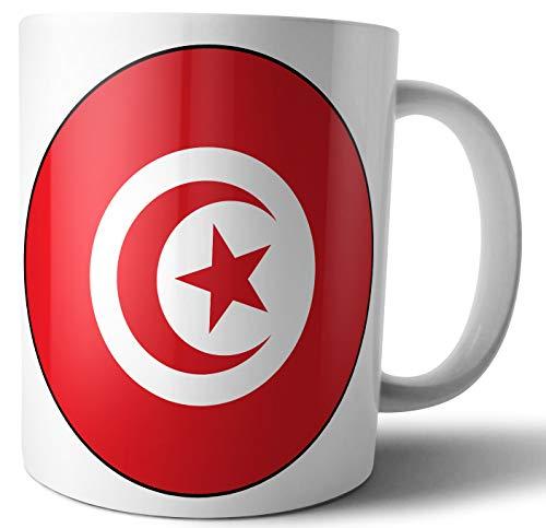Túnez – Bandera de Túnez – Té – Café – Taza – Taza – Cumpleaños – Navidad – Regalo – Secret Santa – Calcetín de relleno