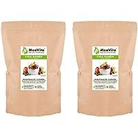 MeaVita Premium Semillas de Chia, Paquete de 2 (2 x 1000 g) 2000 g