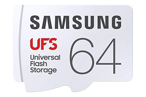 Samsung UFS 500 MB/s 4K UHD Universal Flash Storage 64 GB