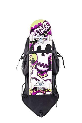 Voltage Skate & Skateboard Bag - Borse da spiaggia Unisex Adulto, Nero (Negro), 24x15x45 cm (W x H L)