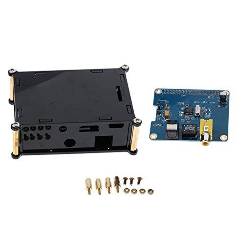 Almencla HiFi DiGi + Digital Soundkarte I2S SPDIF Optical Fiber RCA Für Raspberry Pi 3