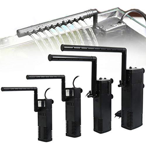 WLDOCA 200-1000L / H Filtro Interno Multifuncional con Barra de pulverización, el Ciclo del Agua, la oxigenación, fácil de configurar - Ajustable de Flujo de Trabajo y Tranquilidad,Ap 1000l