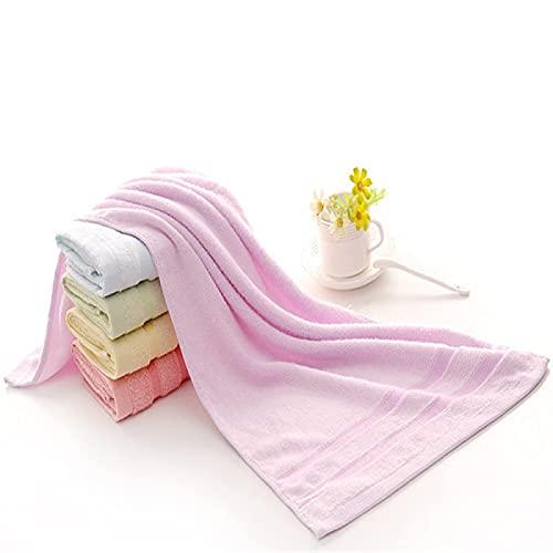 BBNBY Juego de Toallas de algodón, paño de Limpieza de Microfibra, paños de algodón Familiares, Altamente absorbentes para baño, Ducha, Uso Diario (Paquete de 6) 33 * 73 cm