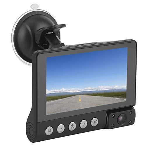 Videocámara de coche, DVR de coche, grabadora para grabar en cualquier lugar un rico campo de visión Ajuste de rango dinámico con inversión de pantalla completa