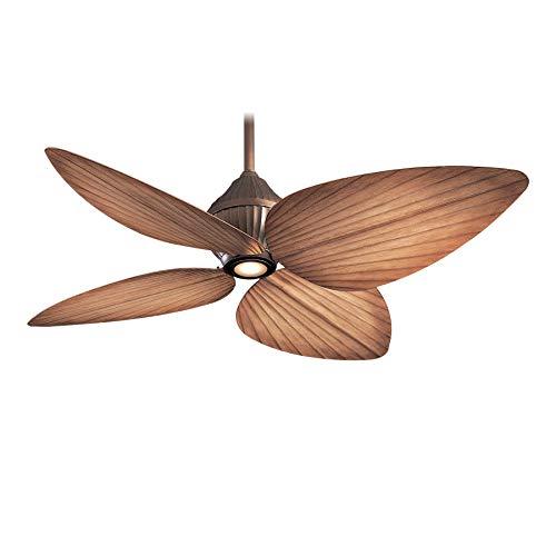 Minka-Aire F581-ORB, Gauguin Oil-Rubbed Bronze 52 inch Outdoor Ceiling Fan w/ Light & Control