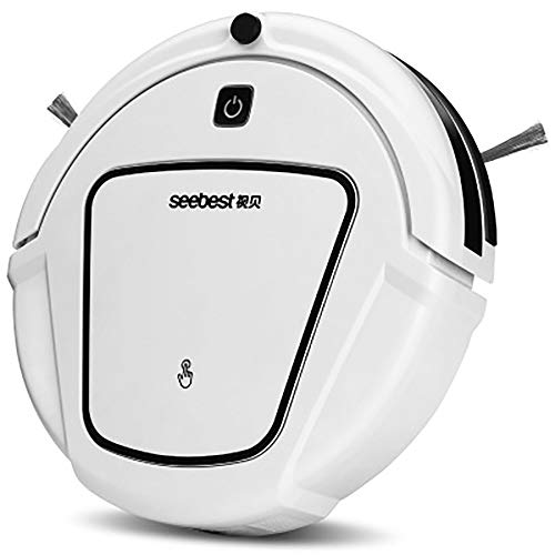 Best Buy! ZuiQianYan Robot Vacuum Cleaner, Thin, Super Quiet,4Cleaning Modes,Auto Charge Robotic Vac...