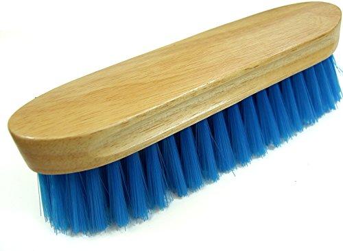 Intrepid International Bedford Horse Brush, Blue