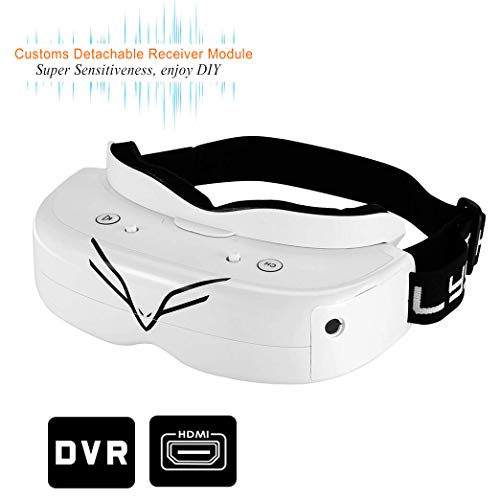 Buy Cheap Flysight FPV Goggles DVR 5.8Ghz Video Goggles with HDMI in Falcon FG02 40CH Wireless RC Dr...
