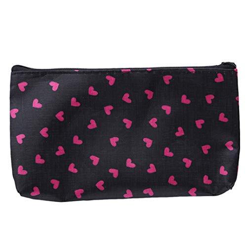 Underleaf Femme Mini Cosmetic Make Up Bag Sacs De Rangement Multifonctions pour Les Voyages en Plein Air (Color1)