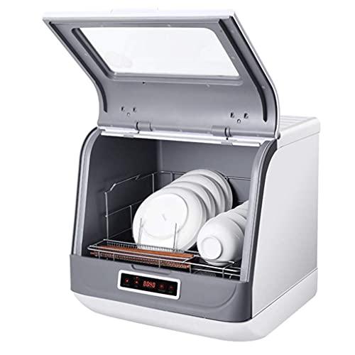 Lavavajillas Lavavajillas De Escritorio Pequeño para El Hogar Totalmente Automático No Es Necesario Instalar Un Lavaplatos Independiente 3 Programas De Limpieza Inteligentes (Color: Blanco, Tamaño: