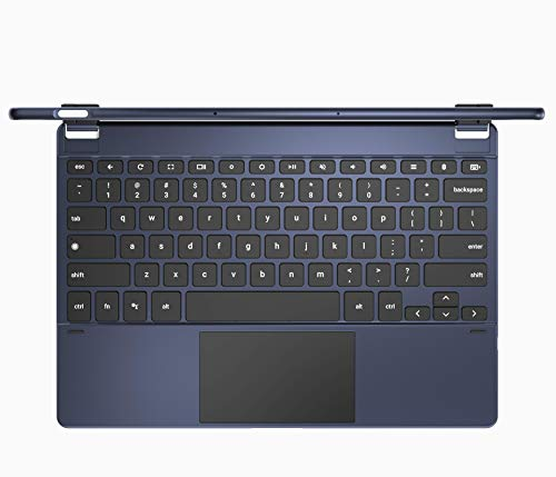 Brydge G-Type Wireless Keyboard for Google Pixel Slate | Aluminum Bluetooth Keyboard with Touchpad | Built-in Chrome OS & Google Assistant Keys | Easy Bluetooth Connect