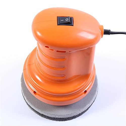 Lixiaonmkop Auto Polnisch Auto Poliermaschine Orange/Schwarz Wachsmaschine Pflege Reparatur Auto Polierer Polieren Auto (Color : Orange)