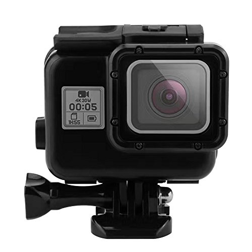 Actpe Waterproof Case for Gopro, Portable 40M Underwater Waterproof Protective Housing Case Cover with Bracket for Gopro Hero 5 ¨C Black