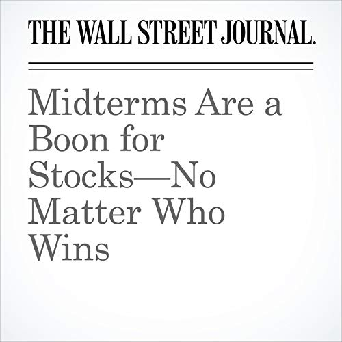 Midterms Are a Boon for Stocks—No Matter Who Wins copertina