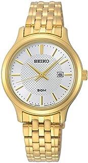 Seiko Women's Analogue Quartz Watch with Stainless Steel Strap SUR646P1 (B07QKX45QD) | Amazon price tracker / tracking, Amazon price history charts, Amazon price watches, Amazon price drop alerts