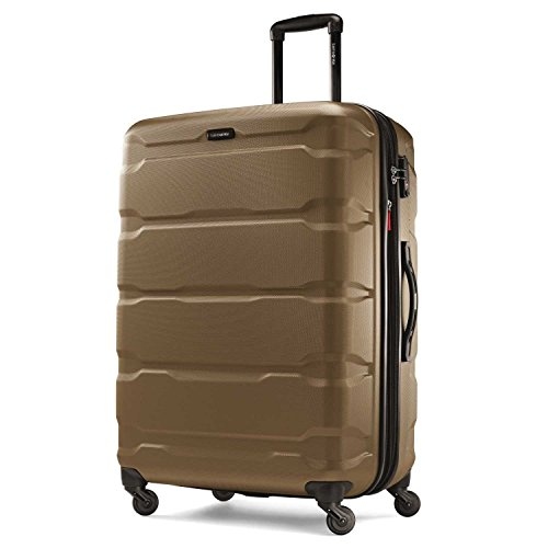 Samsonite Omni PC Hardside Expandable Luggage with Spinner Wheels, Bronze
