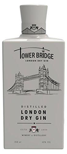 Ginebra Premium Tower Bridge London Dry GIN white 350ml