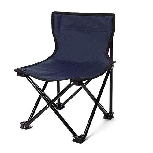BSDBDF Chaises Pliantes compactes ultralégères avec Sac de Transport pour extérieur, pêche, Festival, Plage Size Bleu Roi