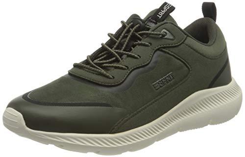 Esprit Damen 080EK1W317 Sneaker, 300/DARK GREEN, 38 M EU