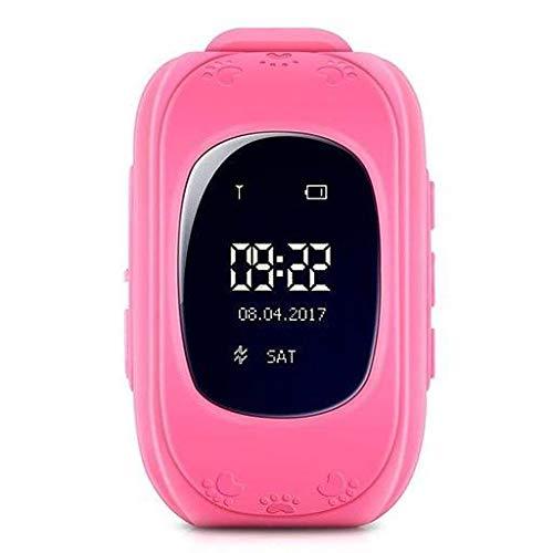 GPS Klocka Q50 för Barn - Rosa