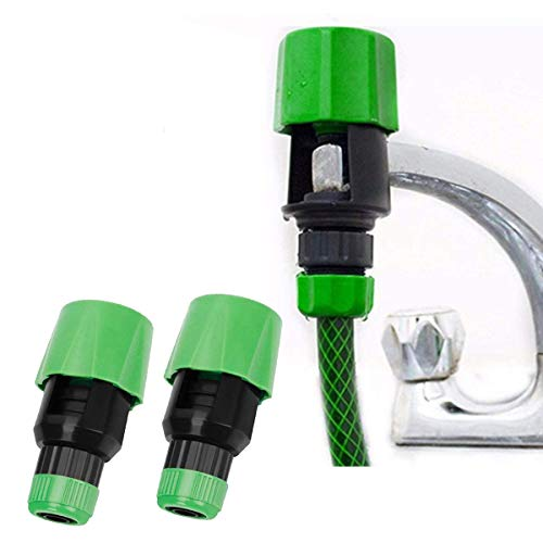 MOMSIV Kitchen Garden Watering Tap Hose Pipe Snap Connector Adaptor Tool...