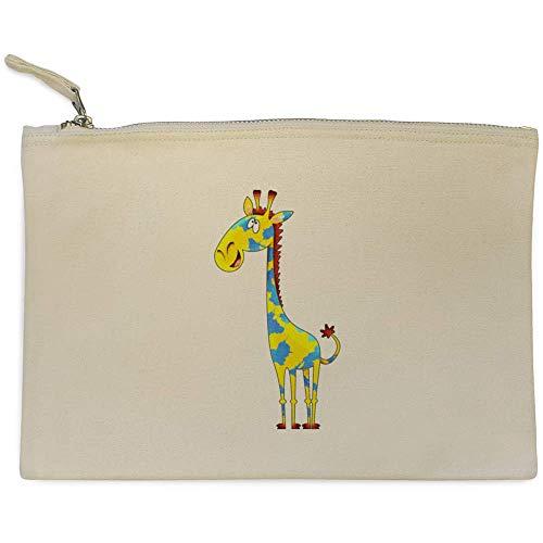 Azeeda 'Gemalte Giraffe' Clutch / Makeup-Fall (CL00017312)