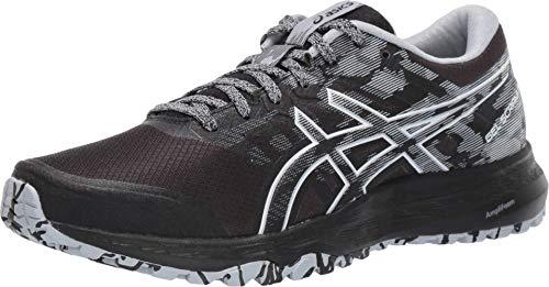 ASICS Women's Gel-Scram 5 Trail Running Shoes, 8M, Black/White