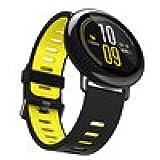 bzline® Banda de Correa de pulsera de silicona de Sports de moda para Xiaomi huami amazfit A1602, amarillo