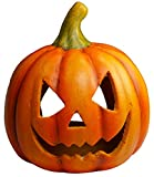 khevga Decoración de Halloween Calabaza Decoración de otoño Titular de candelita Decoración de Calabaza