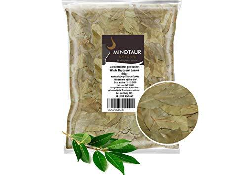 Minotaur Spices | Hojas secas de Laurel | 2 X 500g (1 Kg)