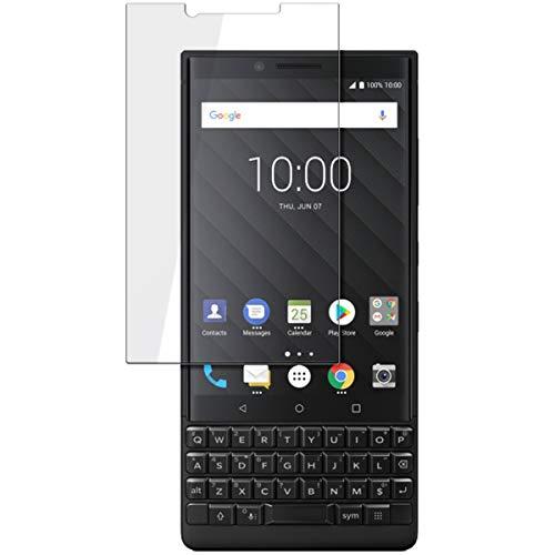 disGuard Schutzfolie für BlackBerry Key2 [2 Stück] Kristall-Klar, Bildschirmschutzfolie, Glasfolie, Panzerglas-Folie, Bildschirmschutz, extrem Kratzfest, Schutz vor Kratzer, transparent