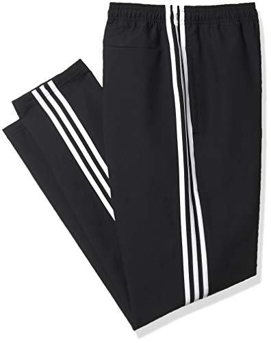adidas Men's Essentials 3-Stripes Pants, Black, X-Large