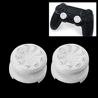 ManFull 2Pcs Thumbstick Grip Gaming Joystick Cap Cover Extender for Sony PS4 Game Controller Mechanical Keyboard Cap