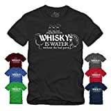 Whisky is Water Without The Bad Parts Spruch III...