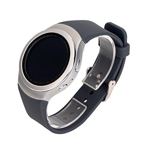 Gosuper zachte siliconen armband smartwatch band voor Samsung Gear S2 SM-R720/R730