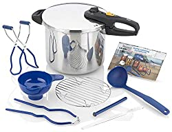 professional Zavor DUO, 10 piece can set, 10 liter pressure cooker with full can set, 2 …
