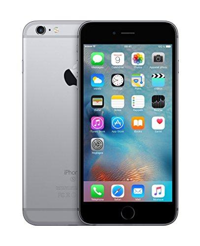 Apple iPhone 6s Plus Smartphone débloqué 4G (Ecran : 5,5 pouces - 16 Go - iOS 9) Gris Sidéral (Reconditionné)
