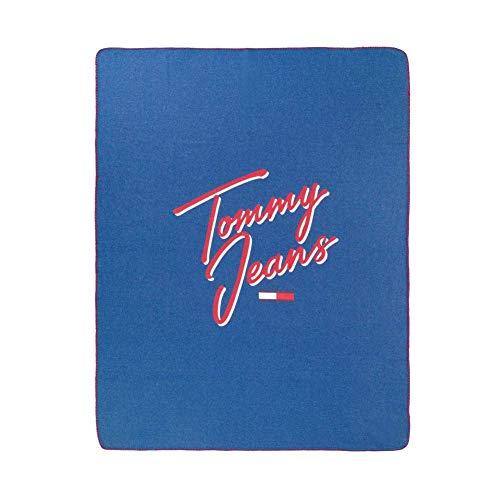Tommy Hilfiger Toalla de ducha Soft Touch color azul tamaño 70 x 140