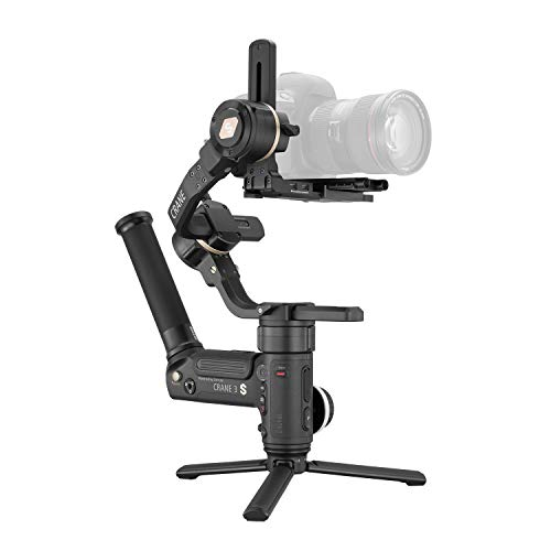Zhiyun Crane 3S Easysling Kit 3-Axis Handheld Gimbal Stabilizer for DSLR Cameras and Camcorder (with Easysling Handle)